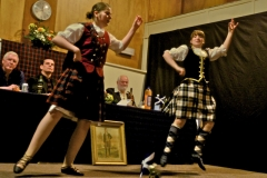 Burns supper at Buchanan Memorial Hall – pic © Loch Lomond Studios
