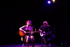Erin Harpe live at Buchanan Memorial Hall – pic © Loch Lomond Studios