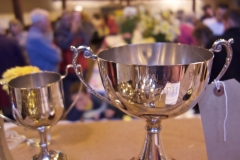Annual flower show at Buchanan Memorial Hall – pic © Loch Lomond Studios